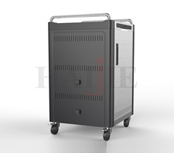 How To Use The  Tablet Charging Cart?