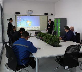 Netherlands A Company Customers Visit Haijie