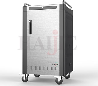 What are the features of Notebook Charging Cart?