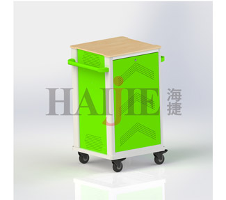 Tablet Smart Charging Cart in the education industry