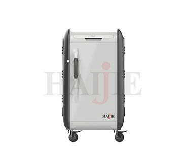 What are the functions of laptop charging cart?
