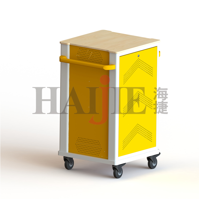Secure Tablet Charging Cart