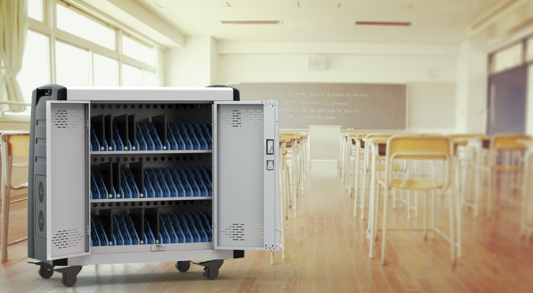 Is the smart classroom charging cabinet safe?